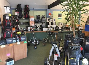 EVM Electric Golf Trolley Shop and Services